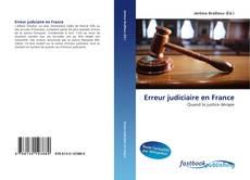 Buchcover von Erreur judiciaire en France