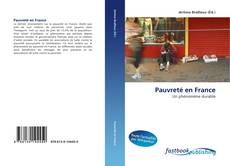 Capa do livro de Pauvreté en France
