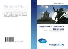 Capa do livro de Belgique et la controverse des langues