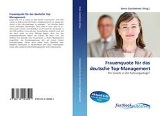 Capa do livro de Frauenquote für das deutsche Top-Management