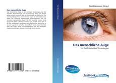 Bookcover of Das menschliche Auge