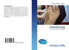 Capa do livro de Kinderlähmung