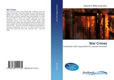Portada del libro de War Crimes