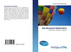 Copertina di Die deutsche Ballonfahrt