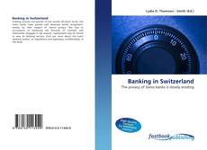 Bookcover of Banking in Switzerland