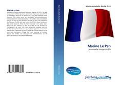 Capa do livro de Marine Le Pen
