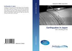 Earthquakes in Japan kitap kapağı