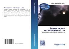 Bookcover of Техногенные катастрофы в 21-м