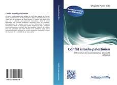 Conflit israélo-palestinien kitap kapağı