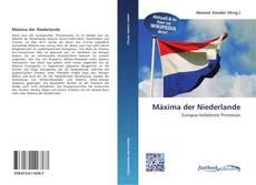 Capa do livro de Máxima der Niederlande