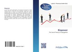 Bookcover of Biopower