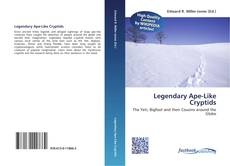 Bookcover of Legendary Ape-Like Cryptids
