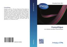 Bookcover of Françafrique