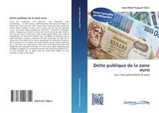 Bookcover of Dette publique de la zone euro