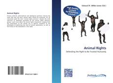 Bookcover of Animal Rights