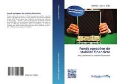 Capa do livro de Fonds européen de stabilité financière