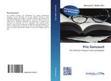 Copertina di Prix Goncourt