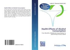 Buchcover von Health Effects of Alcohol Consumption