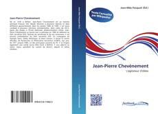 Capa do livro de Jean-Pierre Chevènement