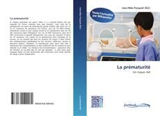 Bookcover of La prématurité
