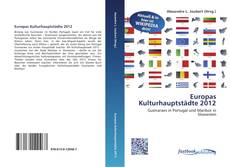Capa do livro de Europas Kulturhauptstädte 2012