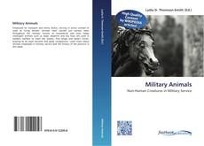 Bookcover of Military Animals