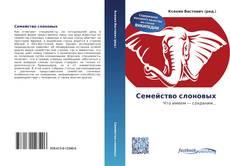 Bookcover of Семейство слоновых