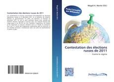 Buchcover von Contestation des élections russes de 2011