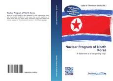 Buchcover von Nuclear Program of North Korea