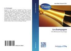 Bookcover of Le champagne