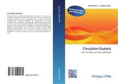 Copertina di Circulaire Guéant