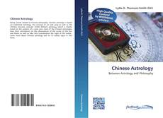 Bookcover of Chinese Astrology