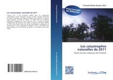 Portada del libro de Les catastrophes naturelles de 2011