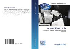 Bookcover of Internet Censorship