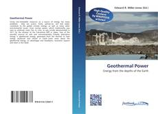 Capa do livro de Geothermal Power