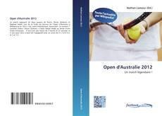 Capa do livro de Open d'Australie 2012