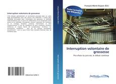 Interruption volontaire de grossesse kitap kapağı