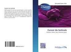 Portada del libro de Cancer du testicule