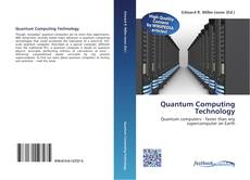 Bookcover of Quantum Computing Technology