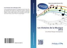 Buchcover von Les Victoires de la Musique 2012
