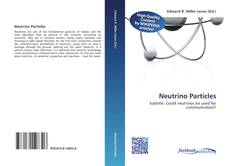 Bookcover of Neutrino Particles