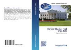 Barack Obama: First mandate kitap kapağı