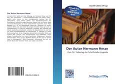Обложка Der Autor Hermann Hesse