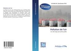Copertina di Pollution del'air