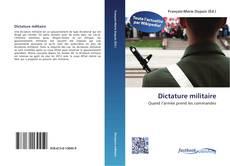 Copertina di Dictature militaire