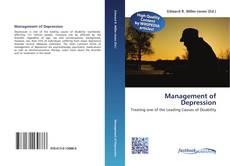 Capa do livro de Management of Depression