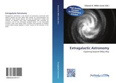 Bookcover of Extragalactic Astronomy