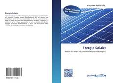 Bookcover of Energie Solaire