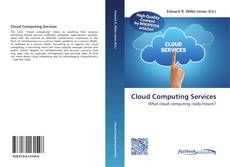 Bookcover of Cloud Computing Services