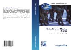 Bookcover of United States Marine Corps